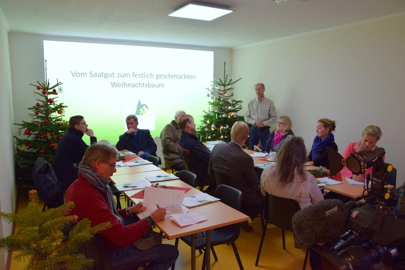 Axel Graf von Bülow Schleswig-Holsteinischer Weihnachtsbaumproduzenten Peter Levsen Johannsen Landwirtschaftskammer Hans Jacobs Forst